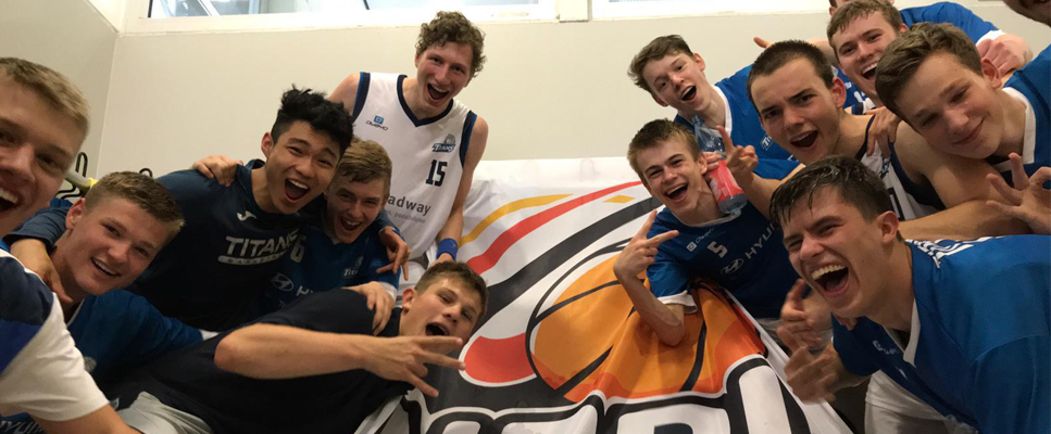 Titans packen NBBL – Sensationell!